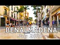 Benalmadena Town Walk in July 2020, Malaga, Costa del Sol, Spain [4K]